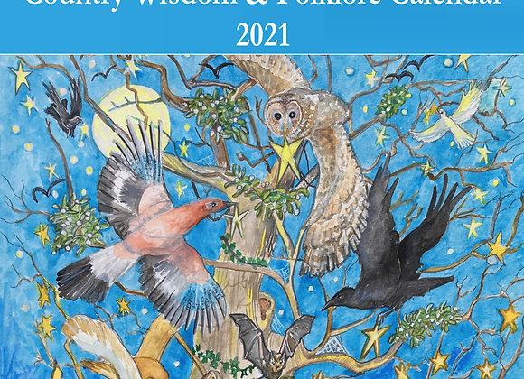 Country Wisdom & Folklore Wall Calendar
