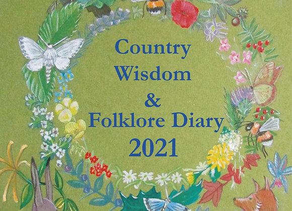 Country Wisdom & Folklore Diary 2021