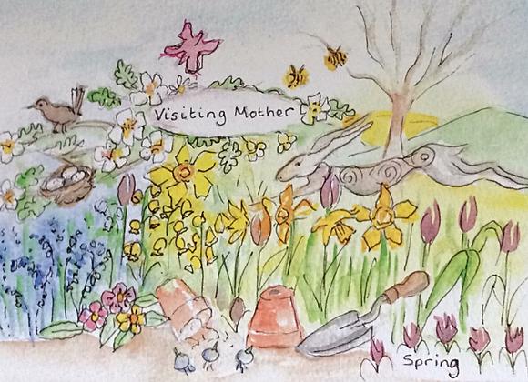 Celebrate Spring Watercolour Booklet