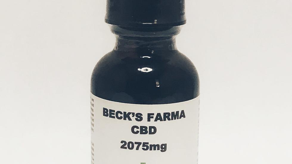 2075mg Full Spectrum Tincture (2464 total cannabinoids)
