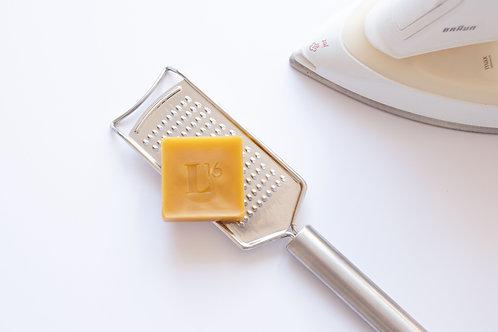 BLOCK Mélange de cire d'abeille pour la fabrication des toiles cirées