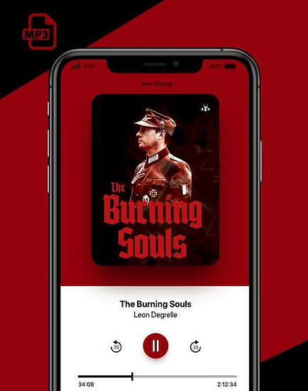 (mp3 audiobook) The Burning Souls by Leon Degrelle
