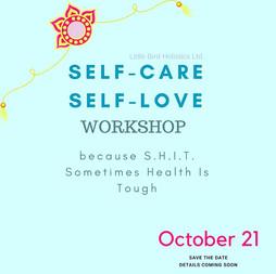 Self-Care Workshop Edmonton Oct 21, 2017 $60 CAD