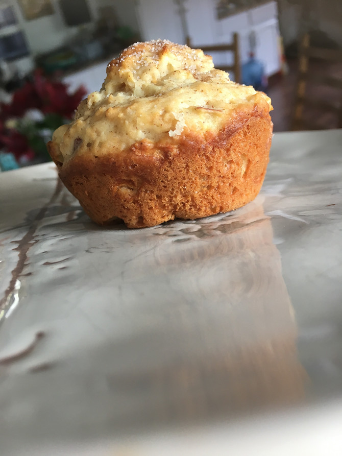 Scrumptious Apple Muffins