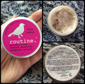 One of my favourite things! Routine Skincare brand!