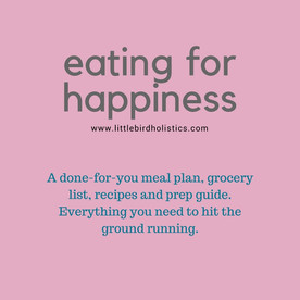 Eating for Happiness Basic Plan $25 CAD