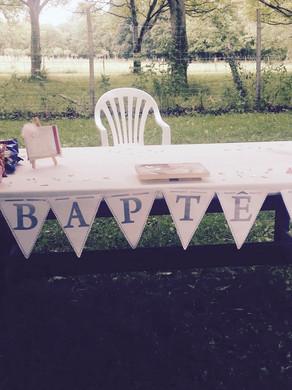 Un Baptême original !