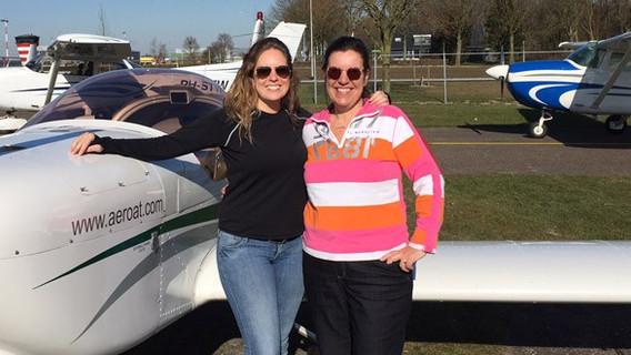 Twee nieuwe instructeurs bij vliegschool Zelf Vliegen
