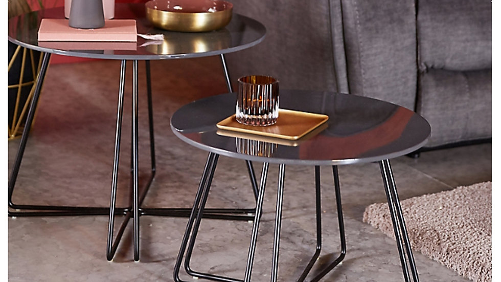 Maddox nest of tables  a set brand new Retailers on high street at £198