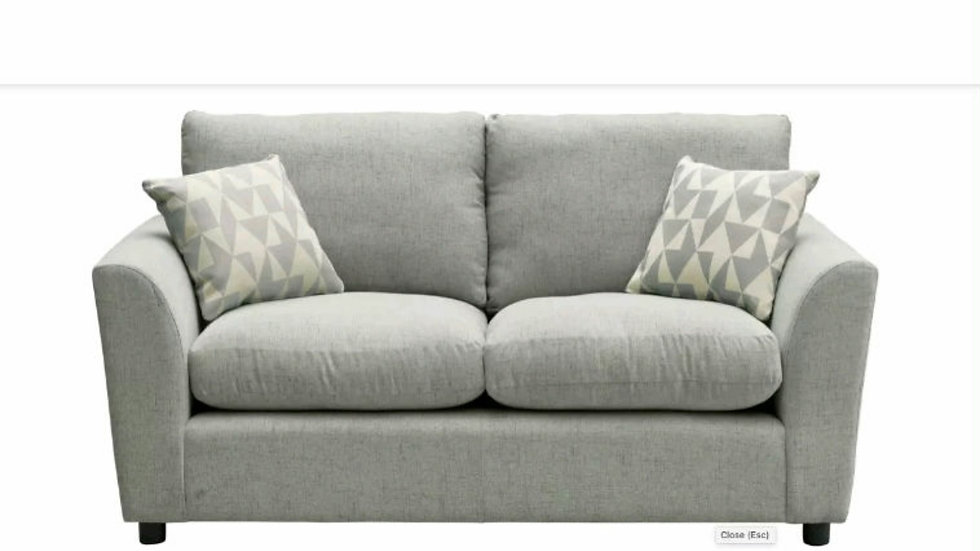 Carter 3 seater in taupe