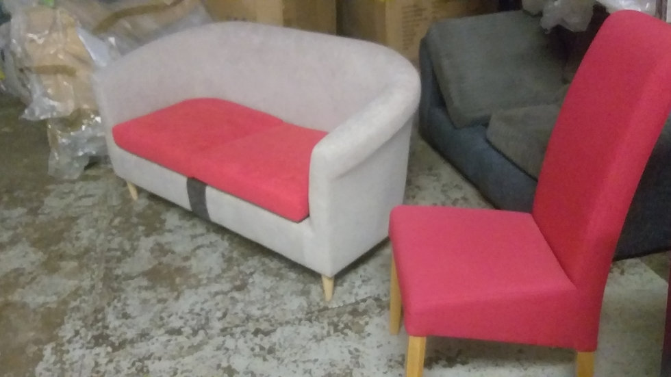 Tub sofa and table chair