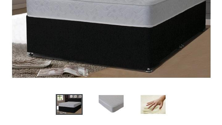 4.6 wavy memory foam mattress