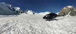 HKY on the Tasman Glacier