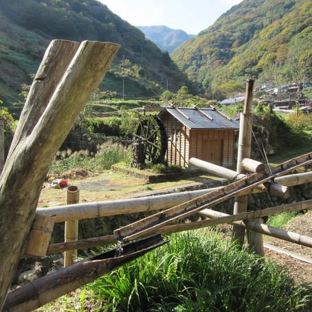 九州の山村にて