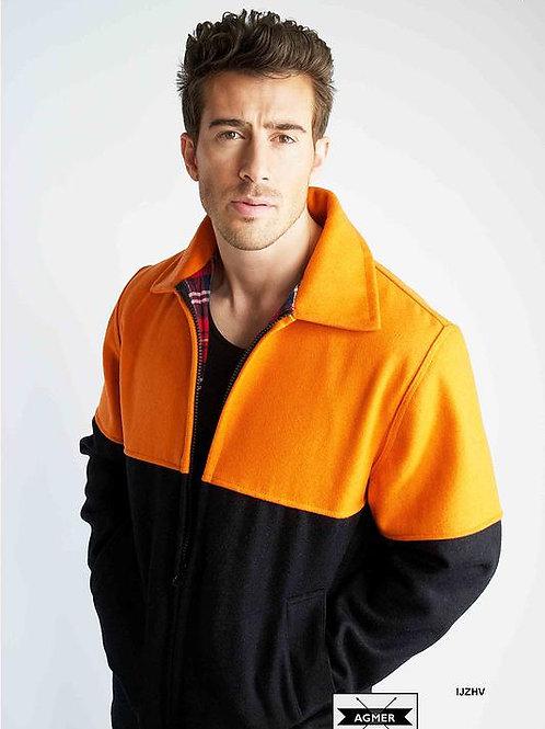 Agmer 21oz Hi-Vis 3/4 Style Bluey Jacket