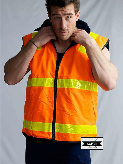 Hi-Vis Reversible Vic Roads Vest