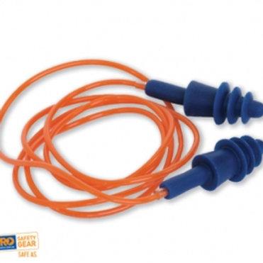 ProSil Reusable Corded Earplugs