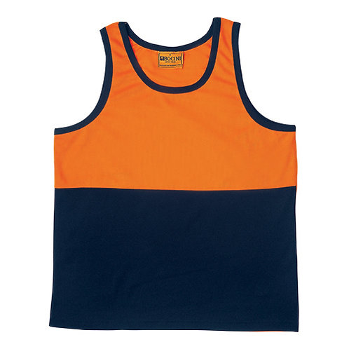 Hi-Vis Poly/Cotton Singlet
