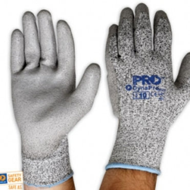 DynaPro Cut Resistant PU Coated Glove