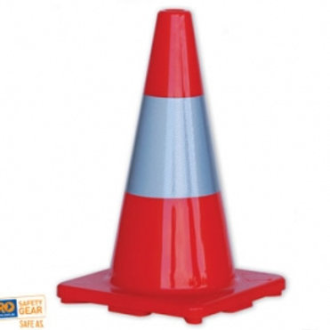 Traffic Cone With Reflective Tape 450mm