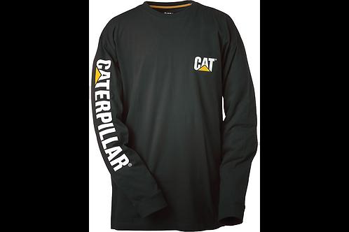 CAT Trademark Banner Long Sleeve Tee