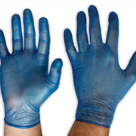 Blue Vinyl General Purpose Gloves