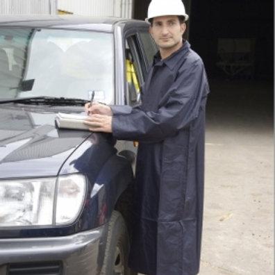 Nylon Jacket Full Length