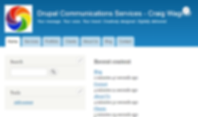 Drupal web site