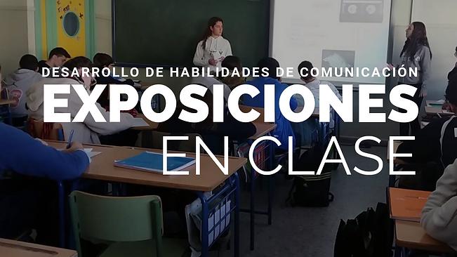 EXPOSICIONES EN CLASE tareas dirigidas e