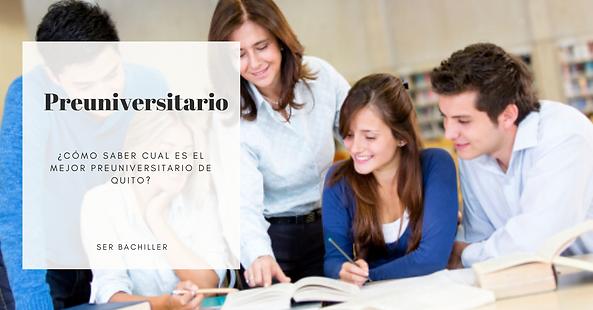 Preuniversitario gratis para curso ser bachiller