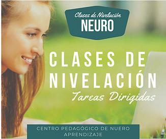 CLASES DE NIVELACION VALLE DE LOS CHILLO