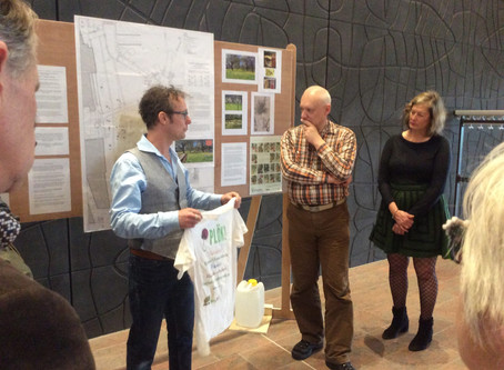 Een blijvend resultaat van Ecovention Europe; een erfgoed vlinderboomgaard in Limburg