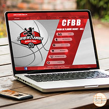 création design site basketball