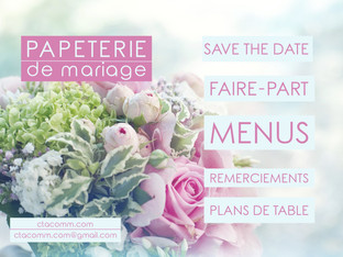 papeterie mariage