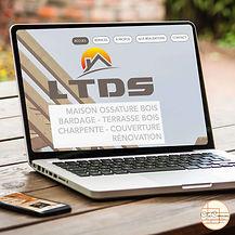 design du site LTDS charpente