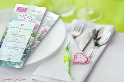 thème romance-menu