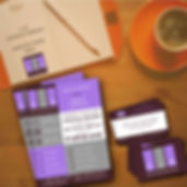 design, flyer, carte de visite