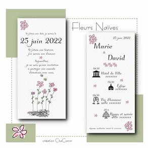 FLEURS NAIVES