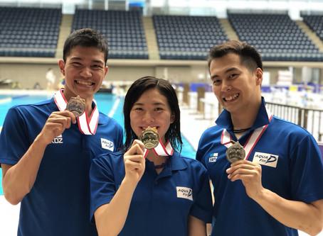 【2日目速報】2018フィンスイミング日本選手権