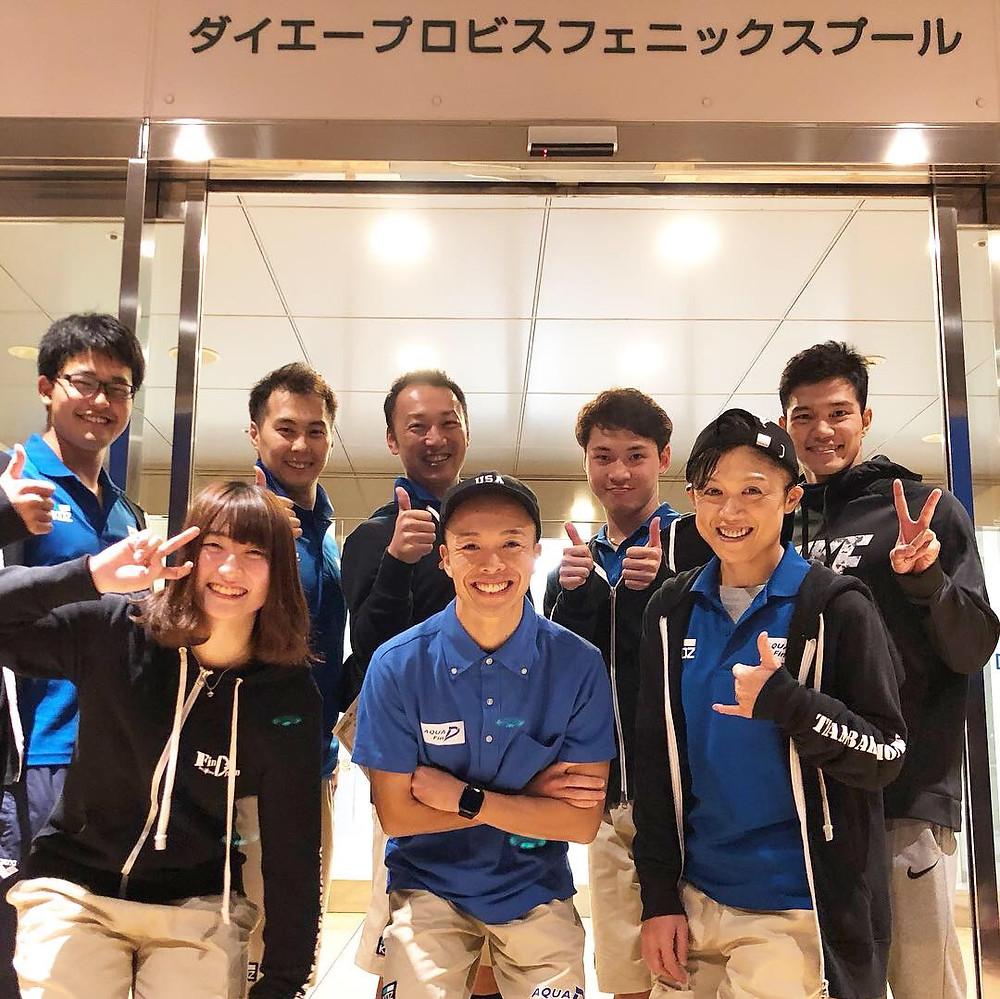 フィンスイミング短水路日本選手権大会(フィンスイミングチームAQUA FinD)