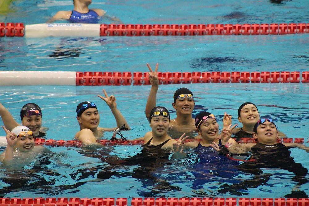 2018フィンスイミング日本選手権 AQUA FinD NAIA Finswimming Team