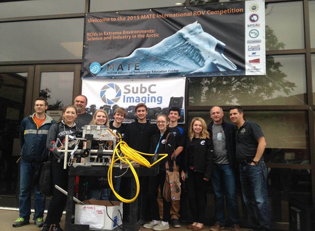 MATE International ROV Competition – St. John's, NL – SubC Sponsored event