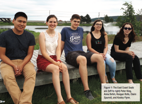 SubC's participation in the Ocean Science and Technology High School Internship pilot program