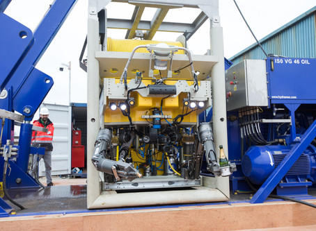 SubC equipment included in observation class ROV in Ireland