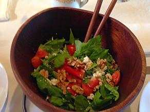 Herbed Arugula Walnut Salad