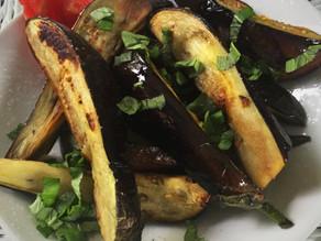 Grilled Summer Eggplant