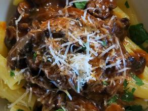 Mushroom Ragu with Penne