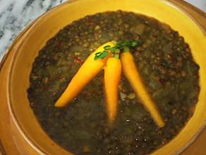 Saffron Sunday Lentil Soup