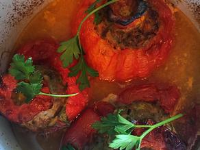 Heirloom Stuffed Tomatoes