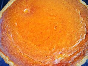 Pumpkin Tart with Almond Maple Crust ~ Vegan